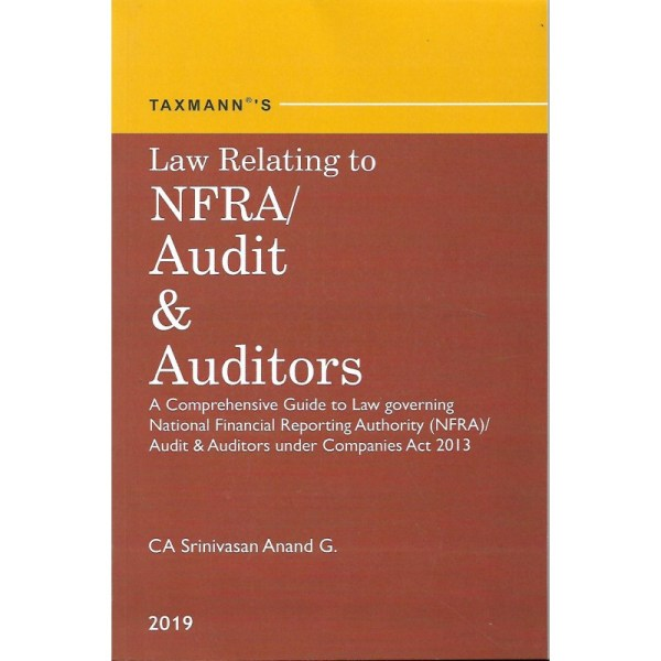 LAW RELATING TO NFRA/AUDIT & AUDITORS BY CA SRINIVASAN ANAND G