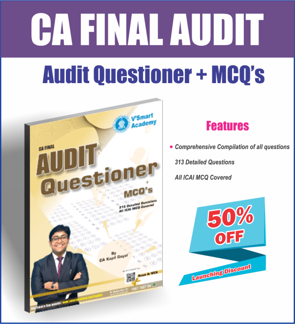 CA FINAL AUDIT QUESTIONER & MCQ BOOK BY CA KAPIL GOYAL