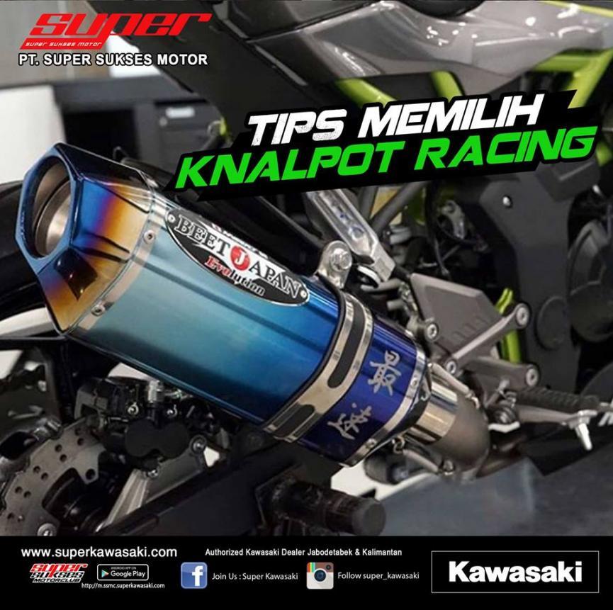 Tips Memilih Knalpot Racing