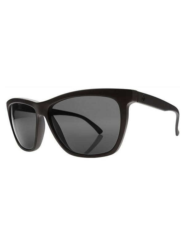 Electric Watts Sunglasses Matte Black- Melanin Grey