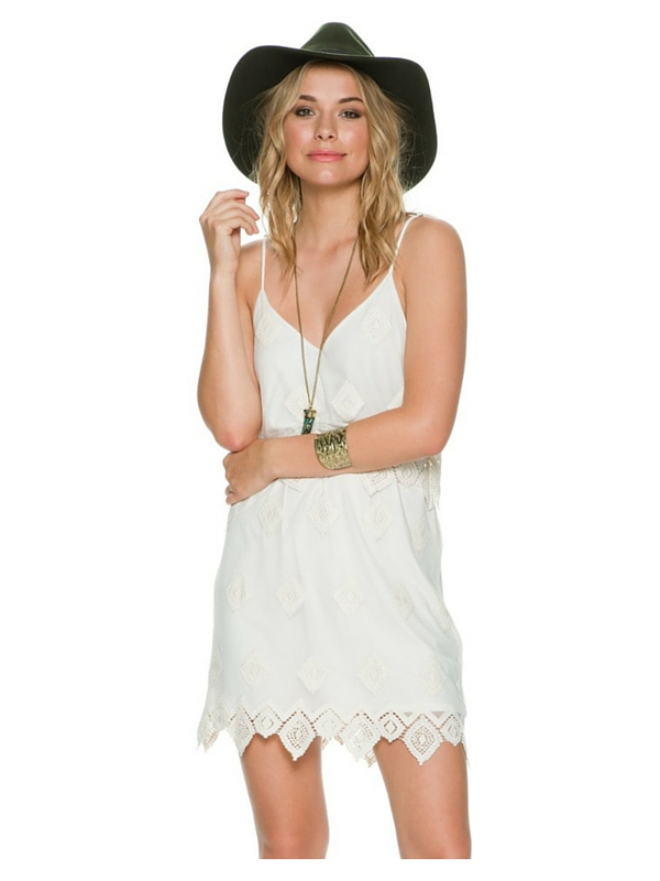 LIV LOS ANGELES TIERED CAMI DRESS