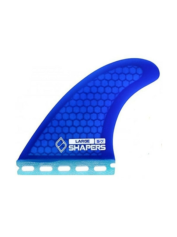 SHAPERS FINS FUTURE CORE LITE S7 BLUE THRUSTER FINS