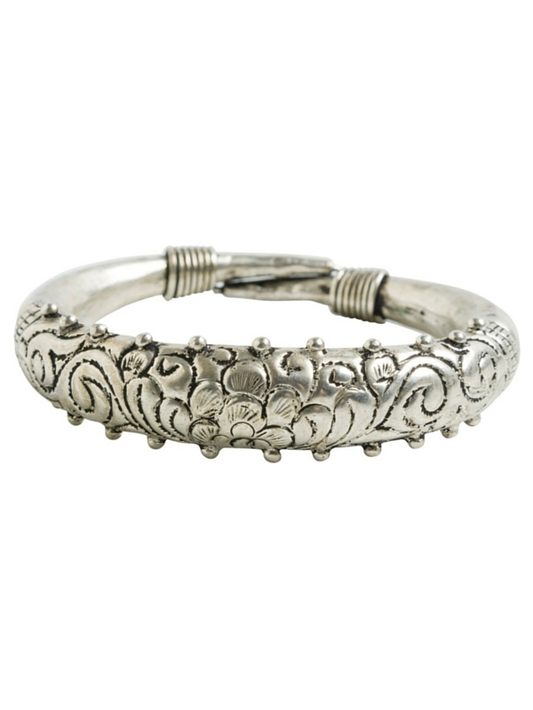 MERSIN ENGRAVED BANGLE