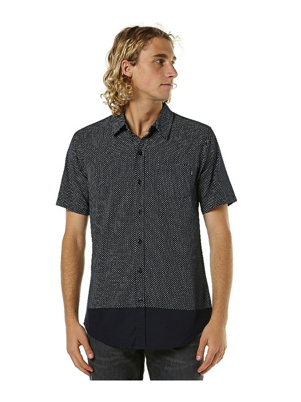 ST GOLIATH FOO SS MENS SHIRT - NAVY
