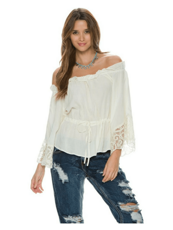 SEA GYPSIES BY LOST RHIANNA TOP