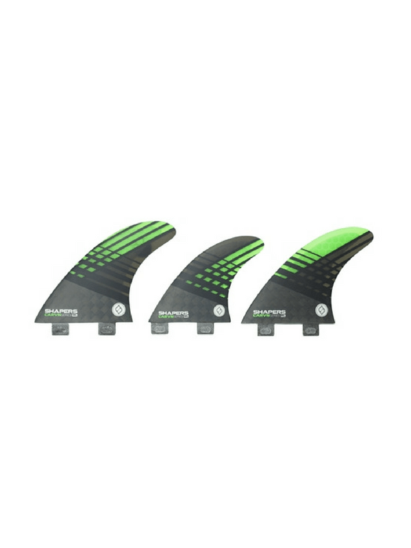 shapers-fins-fcs-carbon-hybrid-carvn-series-6-fin-set-medium%2f-large-smoke-%2f-green
