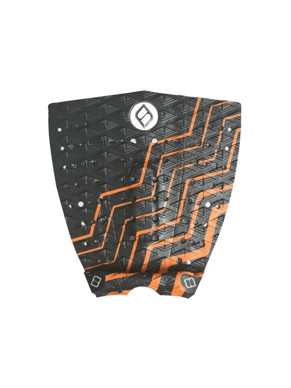 shapers-grom-series-3-piece-surfboard-traction-tailpad-black%2f-neon-orange