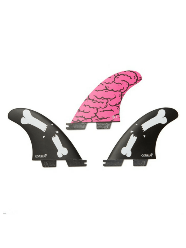 GORILLA GRIP X FCS II BRAINS BONES BARS THRUSTER SET SMALL