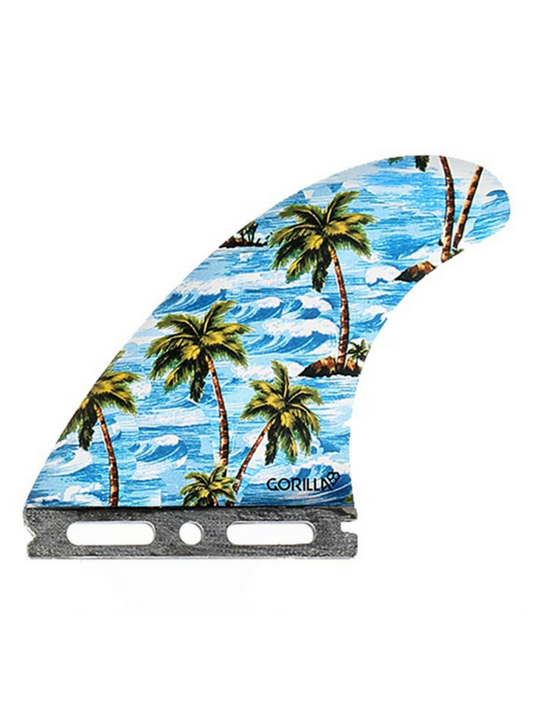 GORILLA GRIP X FUTURES SLOTH PALM TREND SHANK LARGE TRI FIN SET