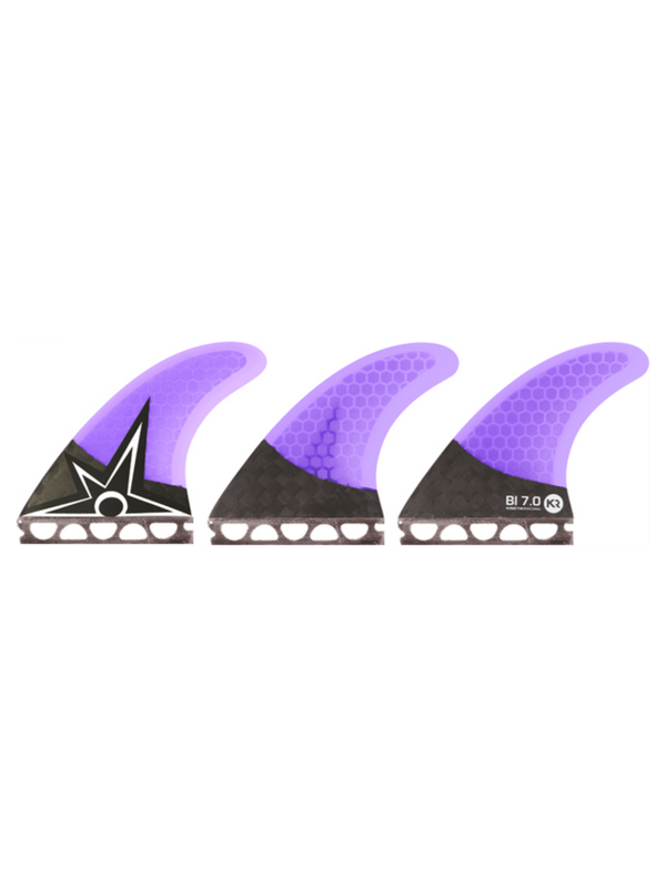 KINETIC RACING BRUCE IRONS CARBO TUNE XS-S FFS PURPLE FINS