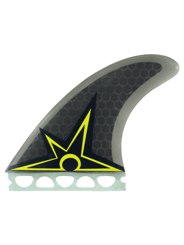 KINETIC RACING BRUCE IRONS ULTRA CORE S-M FFS SMOKE YELLOW