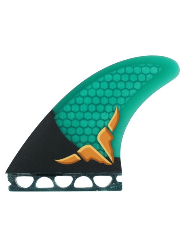 KINETIC RACING OCCY CARBO TUNE MEDIUM LARGE FFS GREEN