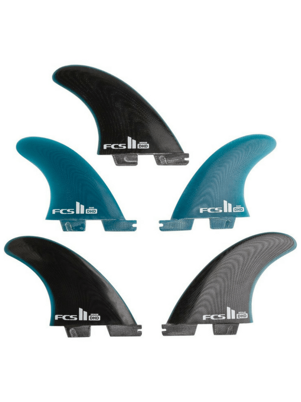 FCS II DH DARREN HANDLEY PG MEDIUM TRI-QUAD FIN SET
