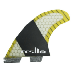 FCS II STRETCH PC CARBON LARGE TRI-QUAD FINS
