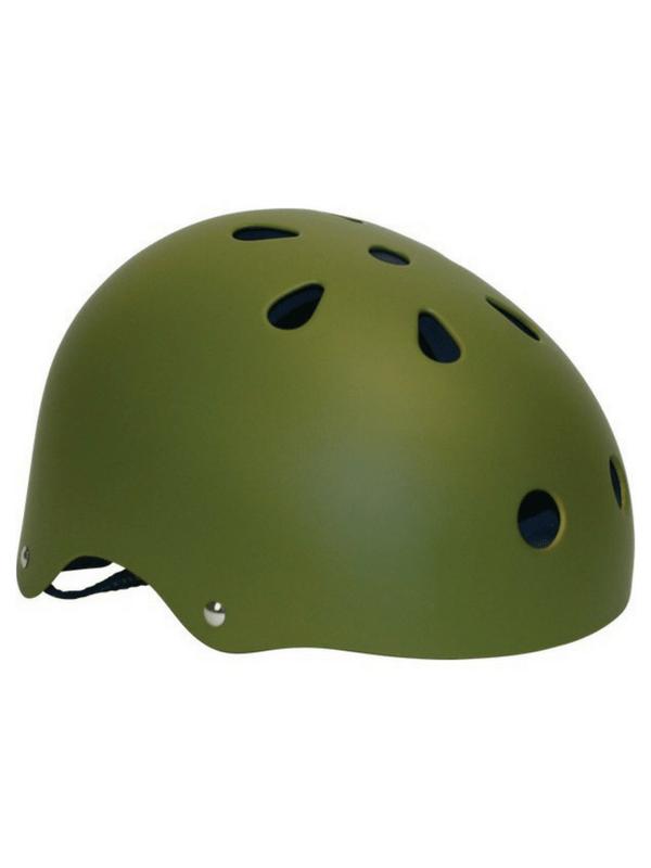 INDUSTRIAL HELMET - X-SMALL - ARMY GREEN - SKATE BIKE SNOW (1)