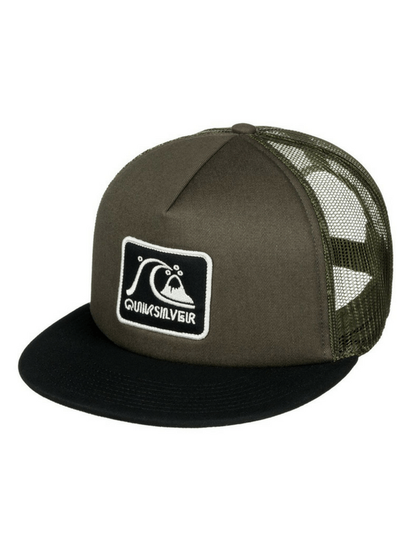 QUIKSILVER GRAFFED TRUCKER HAT