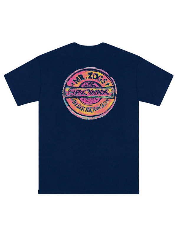 SEX WAX VAN ZOGH T-SHIRT NAVY