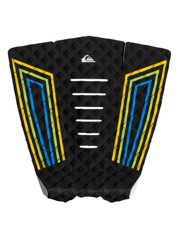QUIKSILVER LF1 BLUE FLORO LINES TRACTION PAD