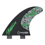 SHAPERS FINS CARBON STEALTH TIMMY PATTERSON TP01 THRUSTER FCS