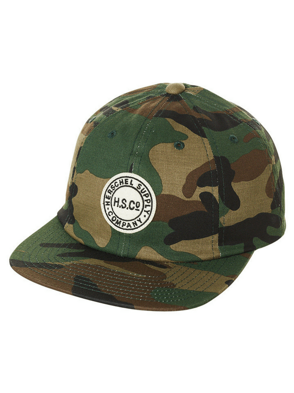 HERSCHEL SUPPLY CO GLENWOOD HAT - CAMO