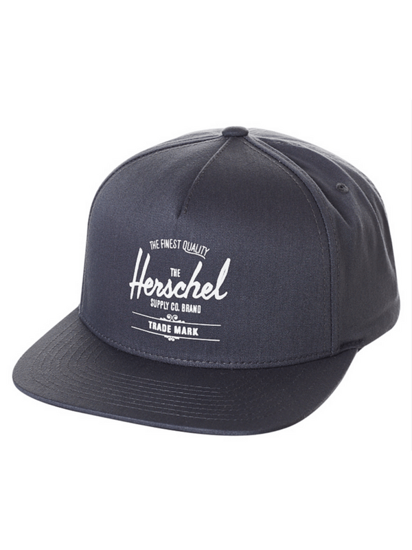 HERSCHEL SUPPLY CO WHALER SNAPBACK HAT - BLUE NIGHTS