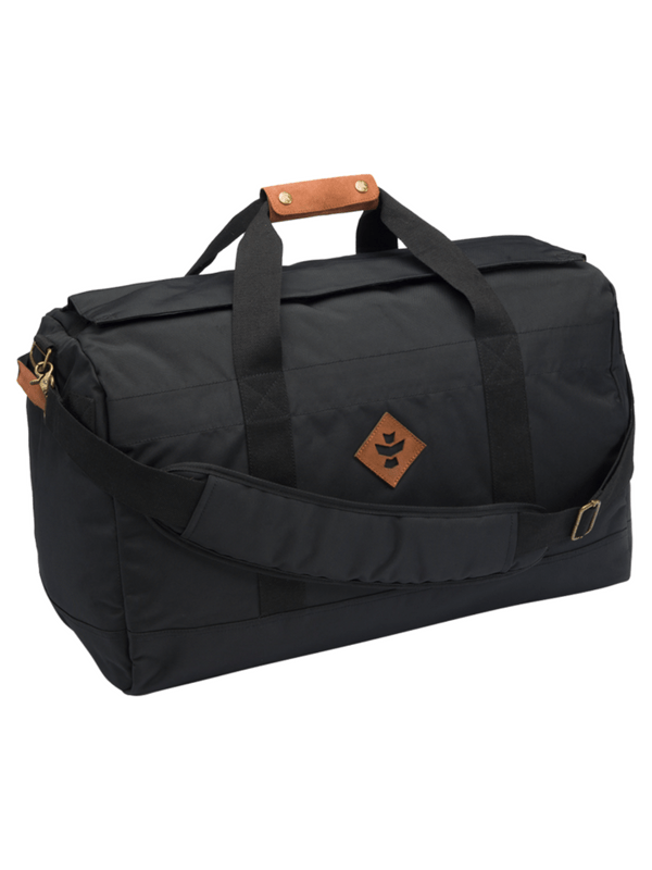 REVELRY AROUND-TOWNER DUFFLE BAG 72L BLK_BLK