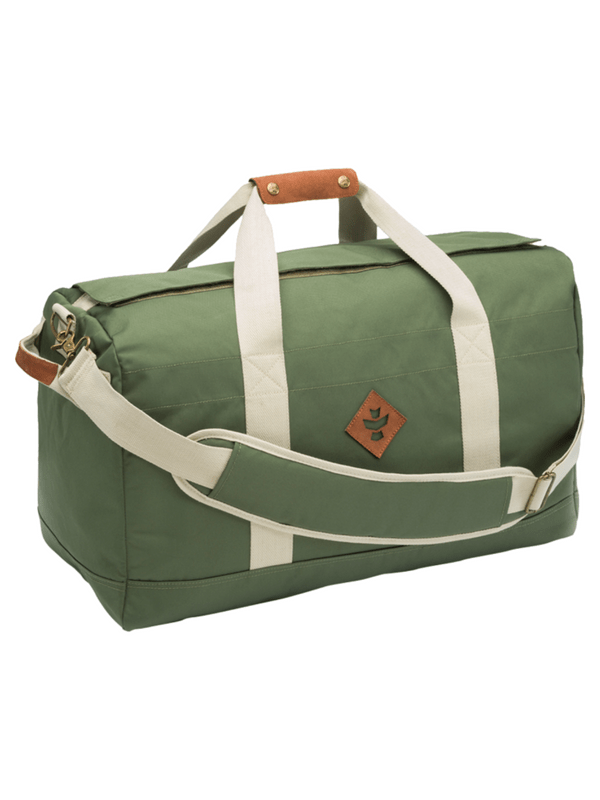 REVELRY AROUND-TOWNER DUFFLE BAG 72L GRN_BEIGE