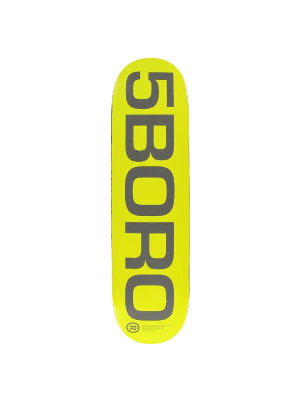 5BORO EXT LOGO DECK-8.25 YEL_GREY