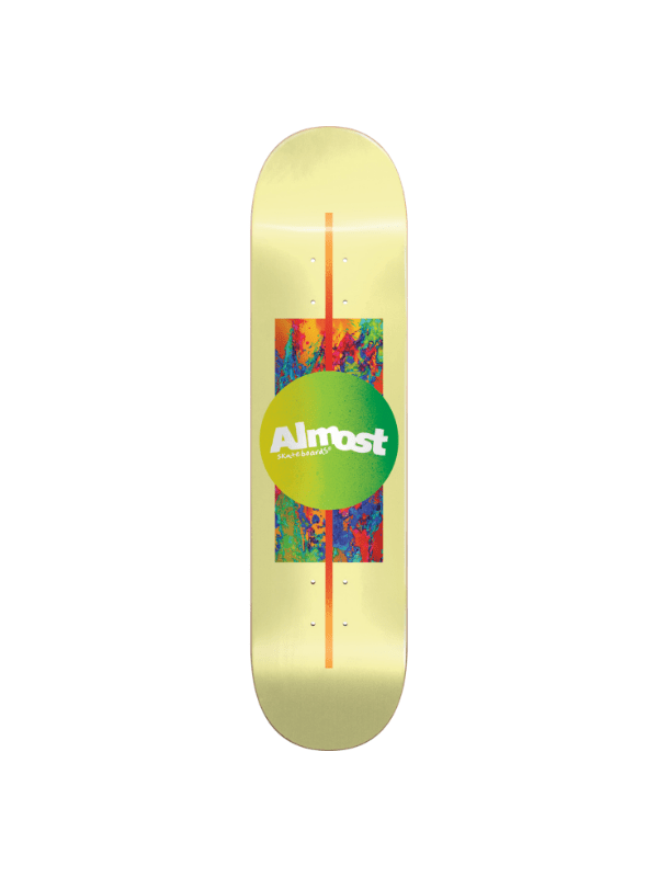 ALM GRADIENT DECK-7.5 YELLOW ppp