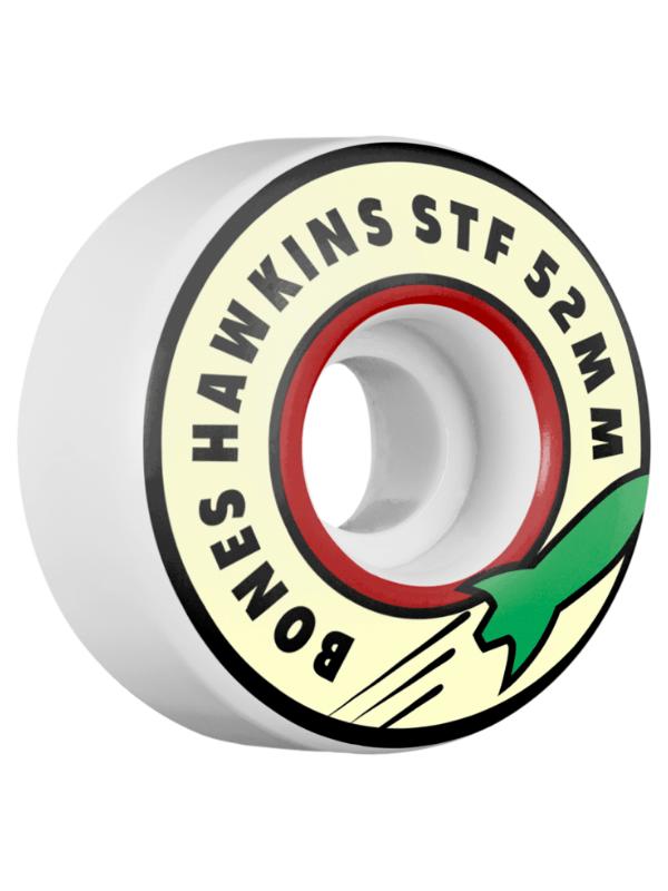 BONES HAWKINS STF ROCKET 52mm WHITE