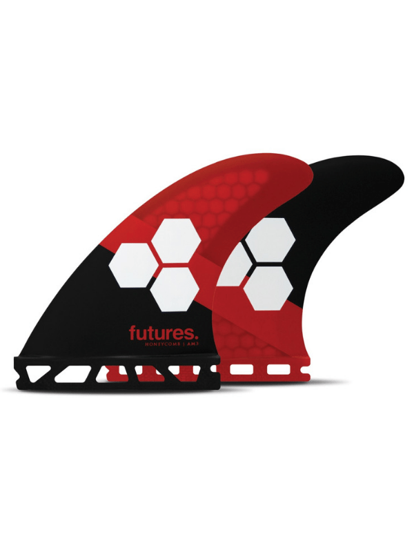 FUTURE FINS AM3 HONEYCOMB THRUSTER - RED_BLACK