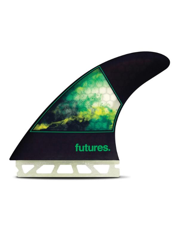 FUTURE FINS JORDY-1 LARGE HONEYCOMB THRUSTER - GREEN