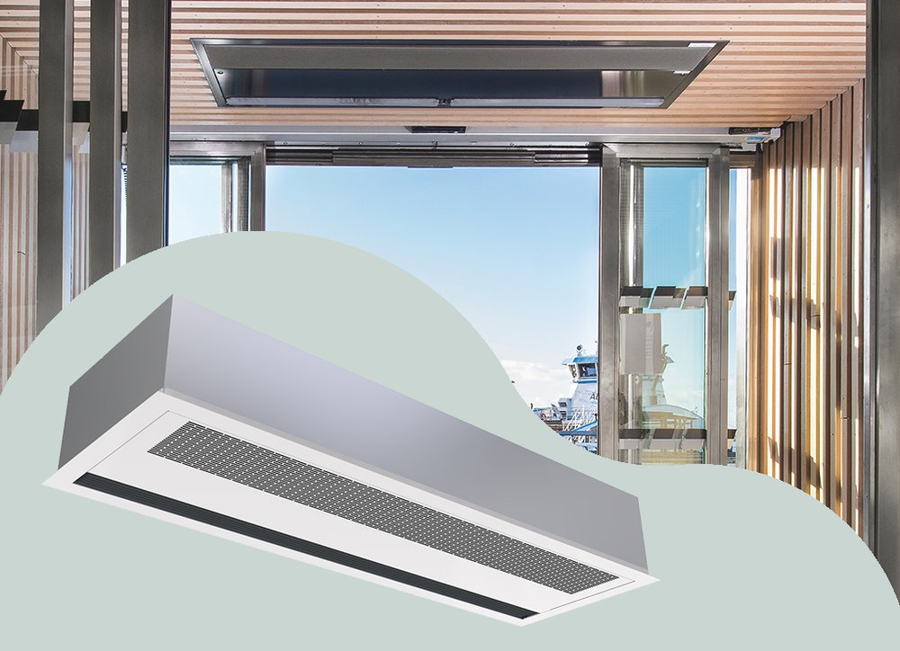 air curtains heating products