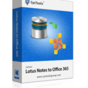 >20% Off Coupon code SysTools Lotus Notes to Office 365 - 5 User License