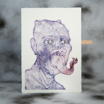 Visum Gustum Limited Edition Moving Etching