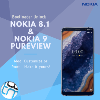 Nokia 8.1 and Nokia 9 Bootloader Unlock