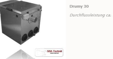 SBA Trommelfilter Drumy 30, Teichfilter, Filtertechnik, Teich