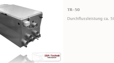 SBA Trommelfilter TR-50, Teichfilter, Filtertechnik, Teich