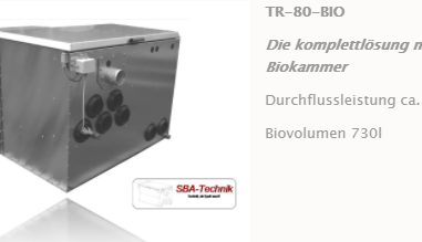SBA Trommelfilter TR-80 mit Biokammer, Teichfilter, Filtertechnik, Teich
