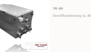 SBA Trommelfilter TR-80, Teichfilter, Filtertechnik, Teich