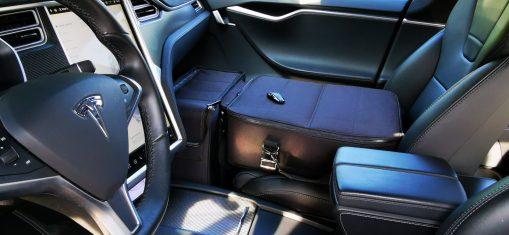 Sitz- und Fußraumtasche