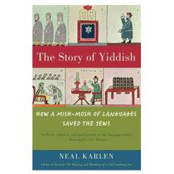 story of yiddish cover