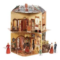 doll house open