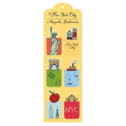 nyc magnetic bookmarks 486 1