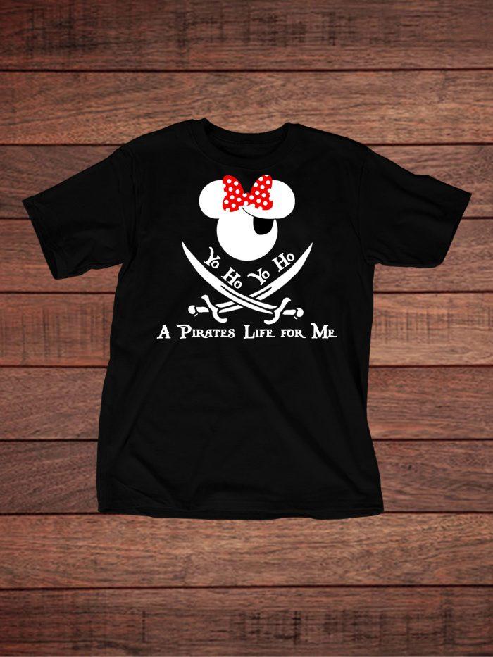 Minnie Pirate of the Caribbean