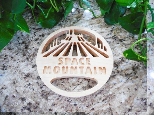 Space Mountain Trivet