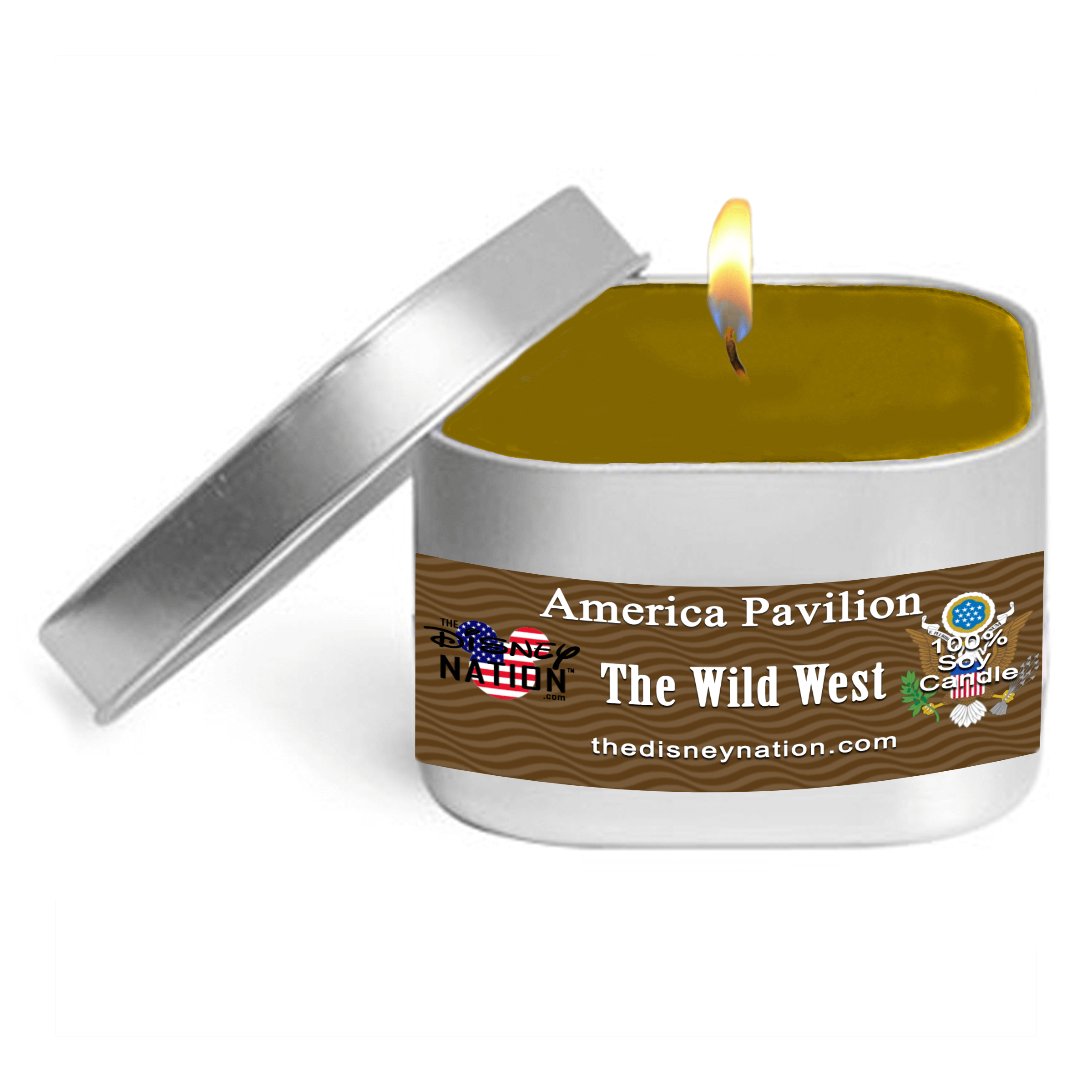 American Pavilion - The Wild West Fragrance Candle Small