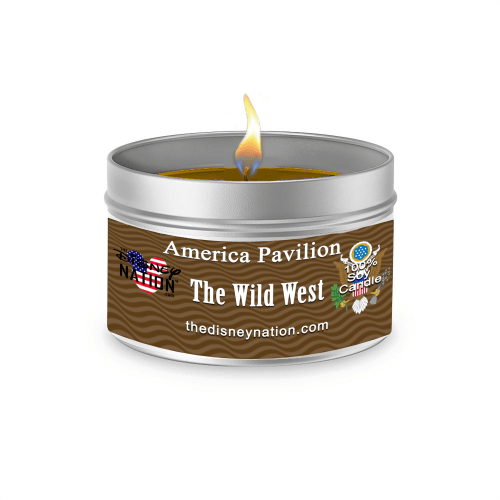 American Pavilion - The Wild West Fragrance Candle Large