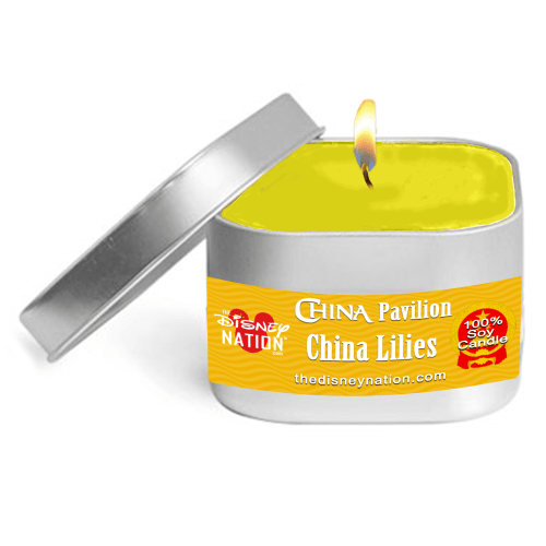 China Pavilion - China Lilies Fragrance Candle Small
