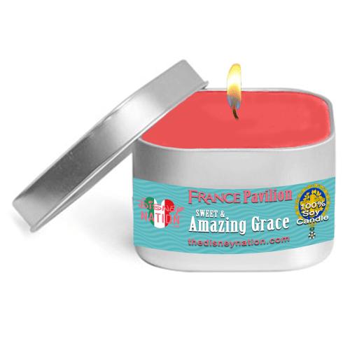 France Pavilion - Sweet & Amazing Grace Fragrance Candle Small